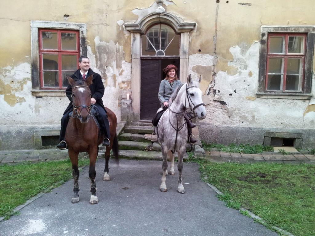 111015 - Na zámku - Hubertská jízda