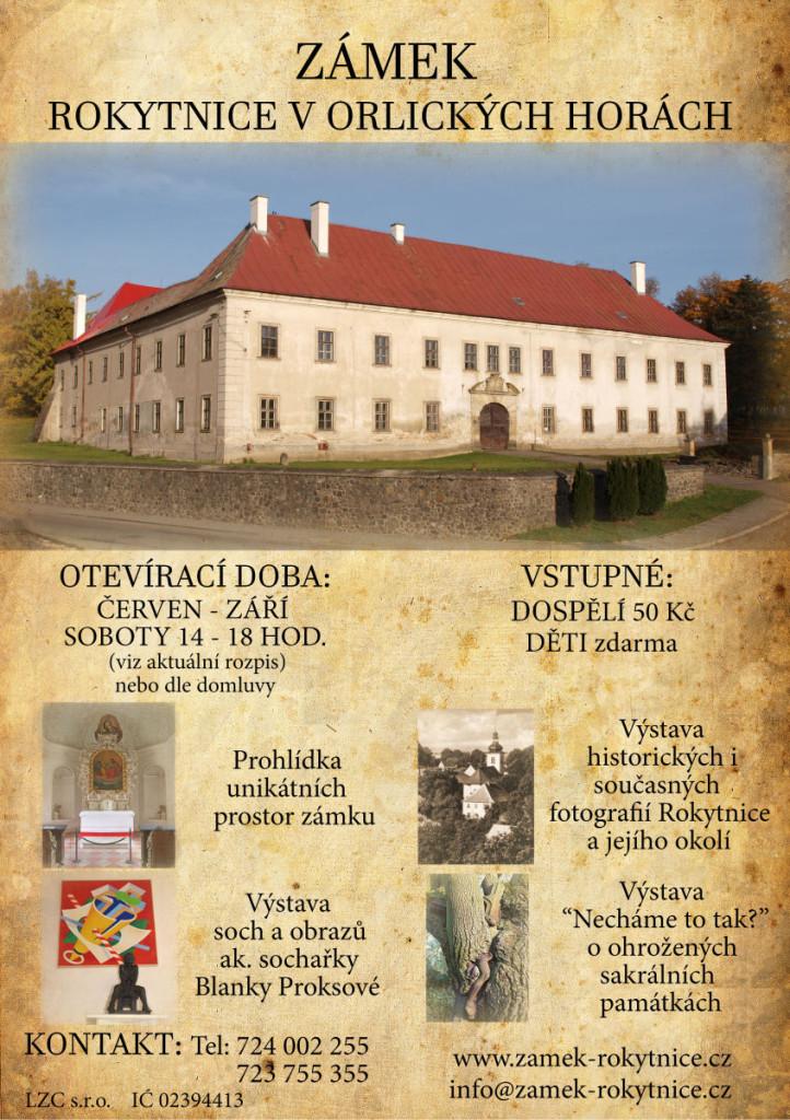 Plakát zámek 2016