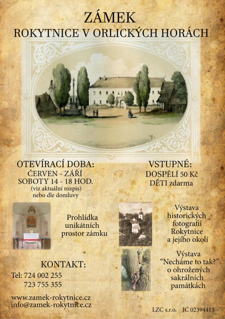 Plakát zámek 2017