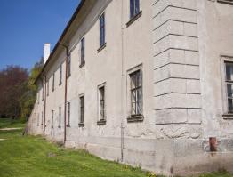 Zámek Rokytnice – jižní strana
